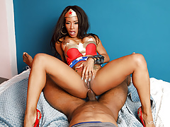VRCosplayX.com Anal Sex With Ebony Kiki Minaj In NUBIA A XXX