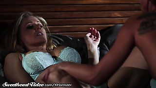 Julia Ann woke by Horny Step-Daughter