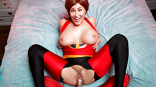 VRCosplayX Curvy Elastigirl And U Becoming THE INCREDIBLES