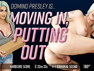 Grooby VR - Domino Presley in Moving In, Putting Out