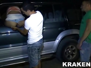 Krakenhot - Dogging Outdoor with a Mature sex in public