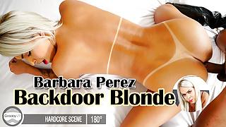GroobyVR: Barbara Perez in Backdoor Blonde