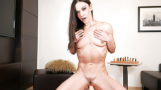 SexBabesVR - 180 VR Porn - Alyssa Reece in Living-Room