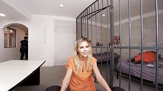 VRBangers Prisoner working your dick to get out of prison VR