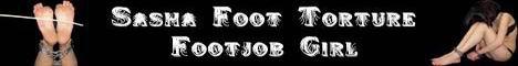 Foot torture footjob