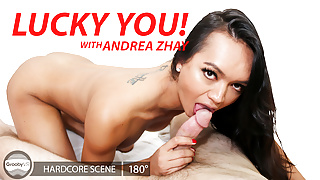 GroobyVR: Andrea Zhay in Lucky You!