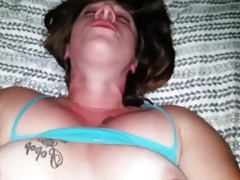 Black lovers cum was smeared all over Thumbnail
