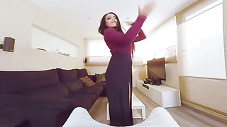 Private ass - Virtualtaboo.com mom with big tits and ass makes private session
