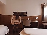 VR 360 degrees - Hot girl gets fucked hard in a hotel room