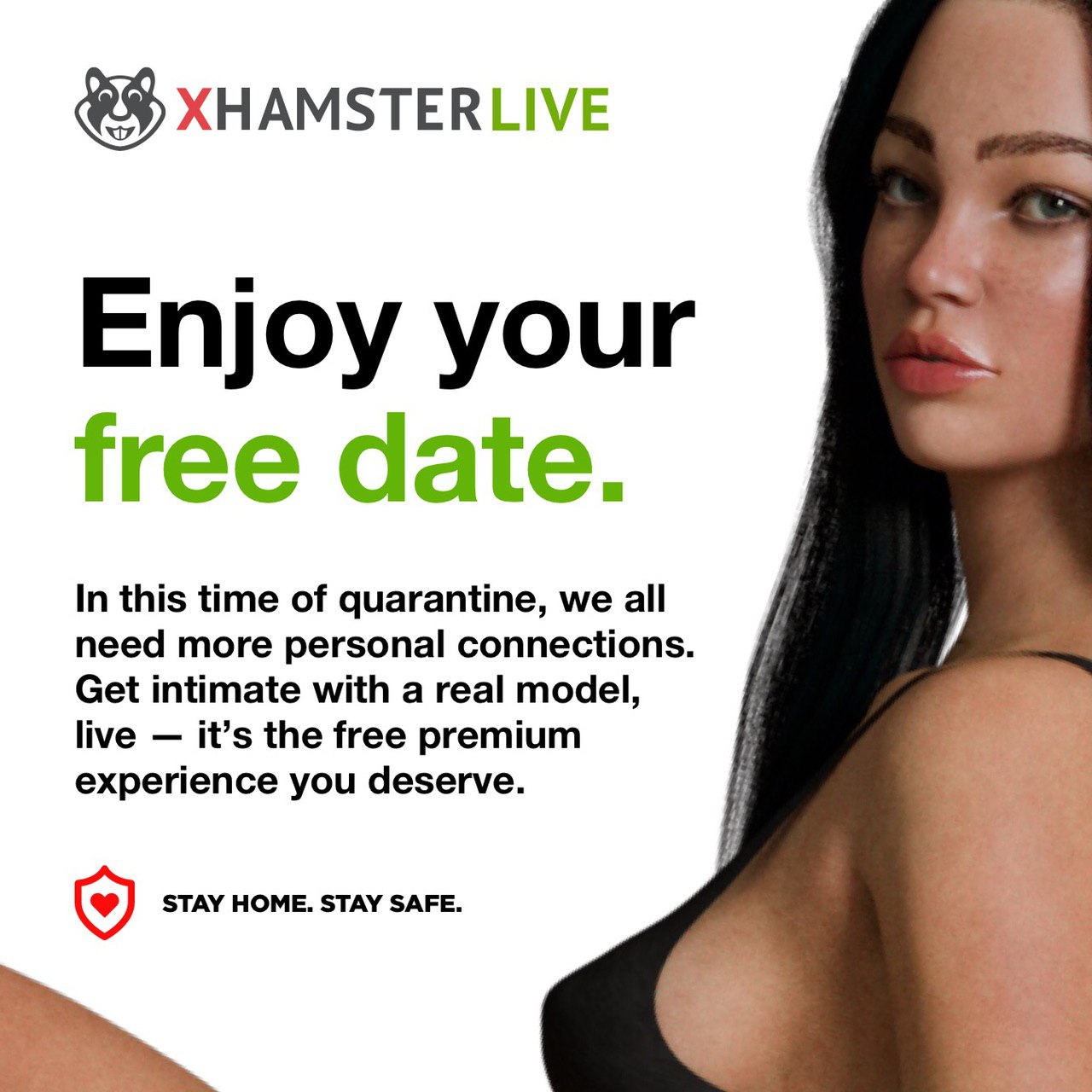 xHamsterLive Giving Out Free Private Sessions